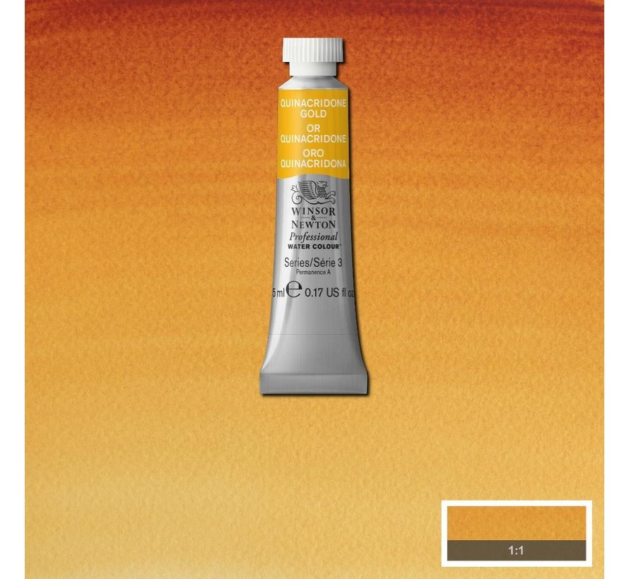 W&N pro. aquarelverf tube 5ml Quinacridone Gold