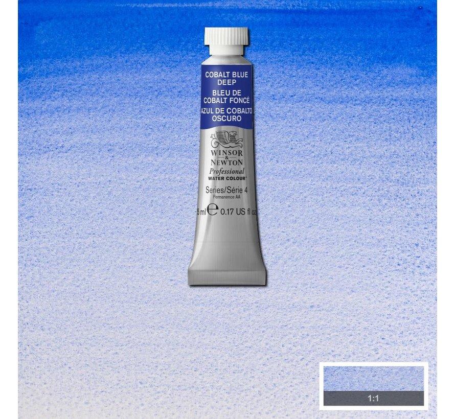 W&N pro. aquarelverf tube 5ml Cobalt Blue Deep