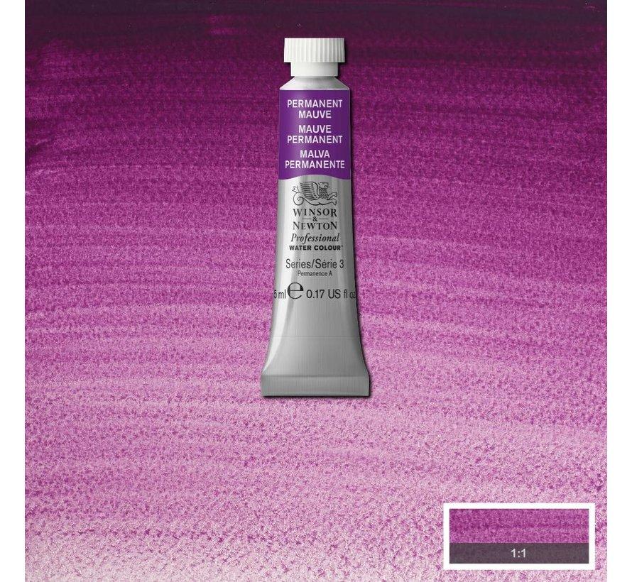 W&N pro. aquarelverf tube 5ml Permanent Mauve