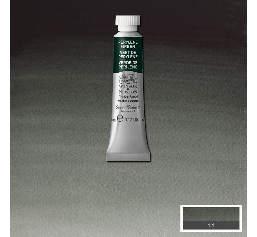 W&N pro. aquarelverf tube 5ml Perylene Green