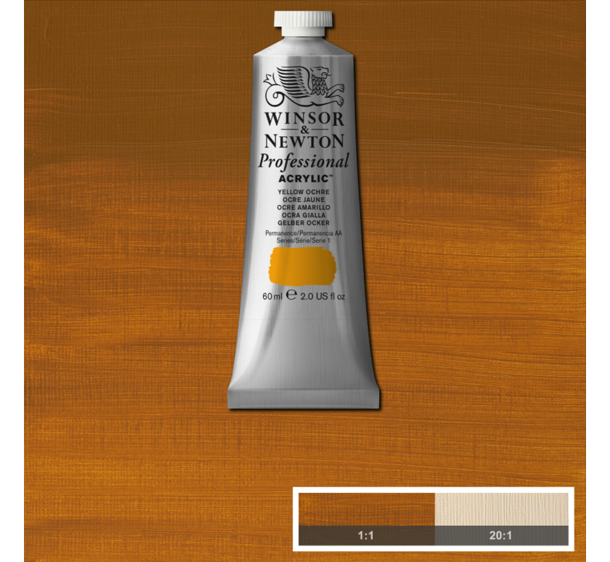 Professional acrylverf 60ml Yellow Ochre