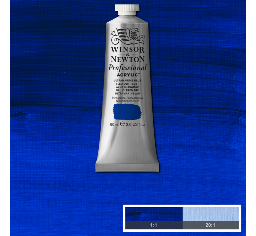 Professional acrylverf 60ml Ultramarine Blue