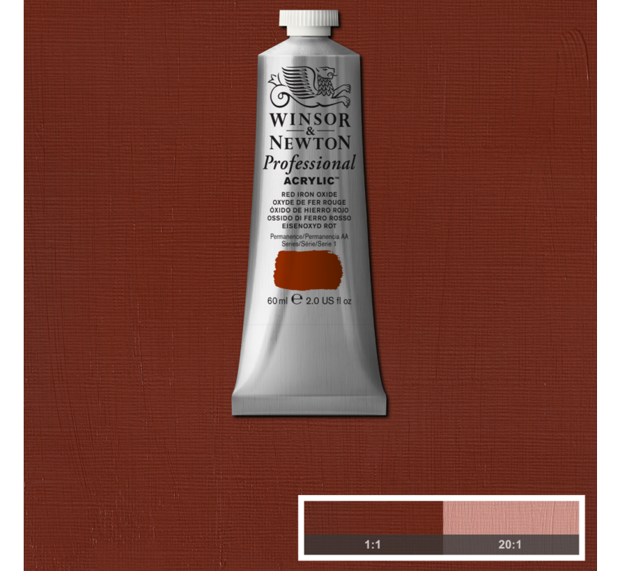 Professional acrylverf 60ml Red Iron Oxide
