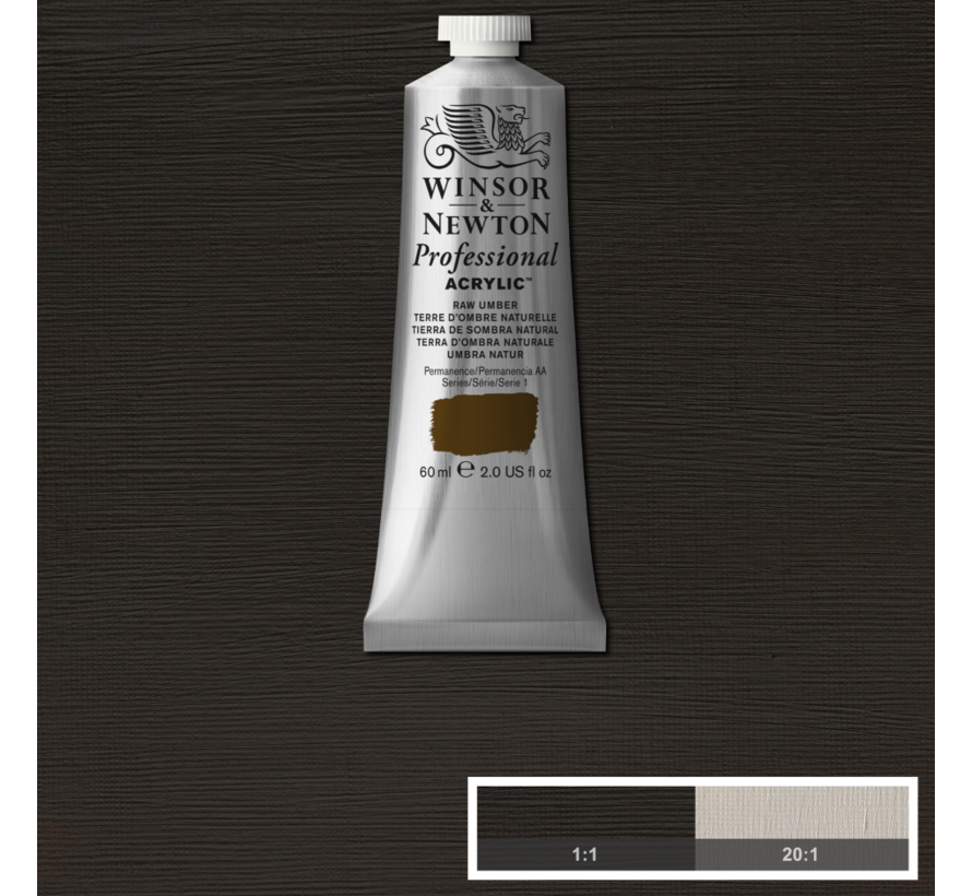Professional acrylverf 60ml Raw Umber