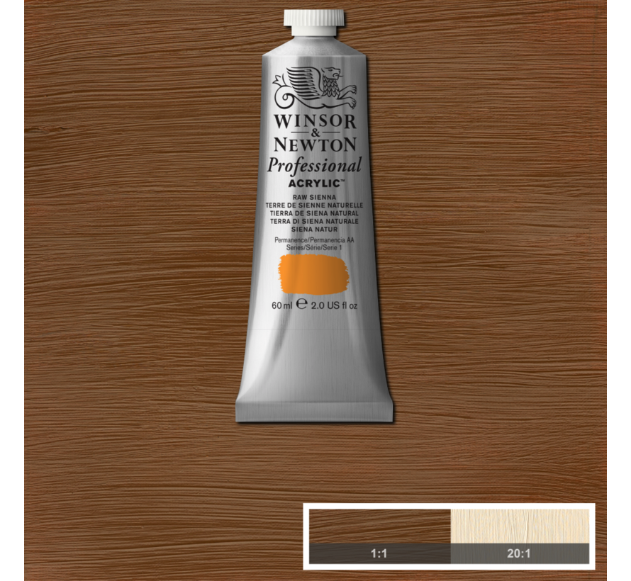 Professional acrylverf 60ml Raw Sienna