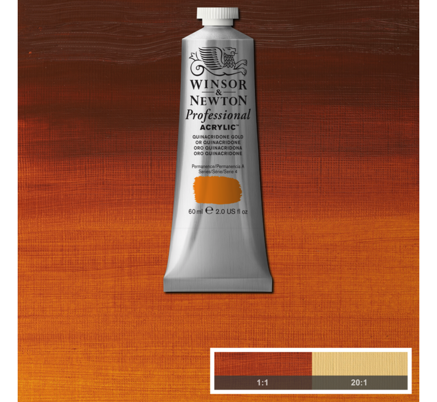 Professional acrylverf 60ml Quinacridone Gold