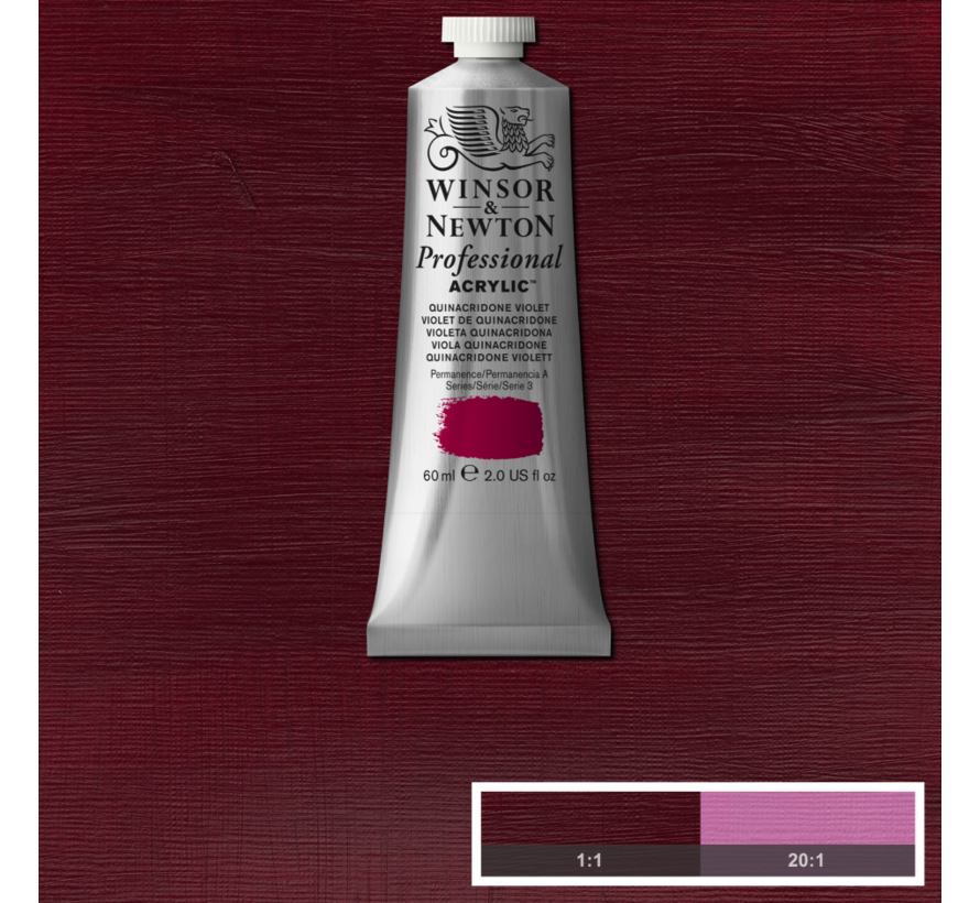 Professional acrylverf 60ml Quinacridone Violet
