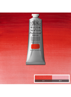 Winsor & Newton Professional acrylverf 60ml Quinacridone Red