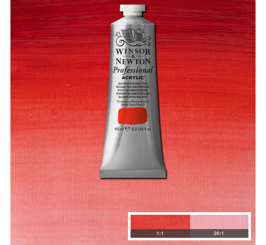 Professional acrylverf 60ml Quinacridone Red
