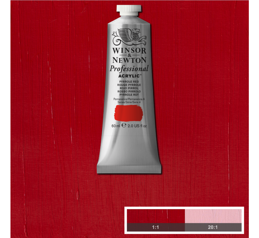 Professional acrylverf 60ml Pyrrole Red