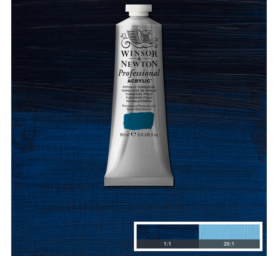 Professional acrylverf 60ml Phthalo Turquoise