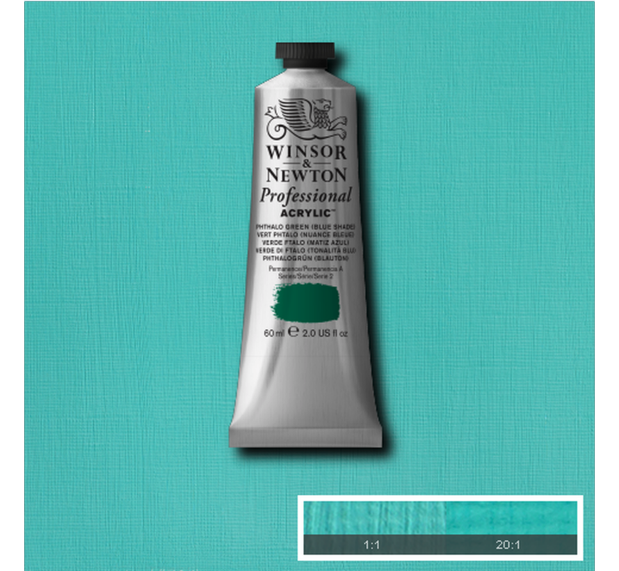 Professional acrylverf 60ml Phthalo Green (Blue Shade)