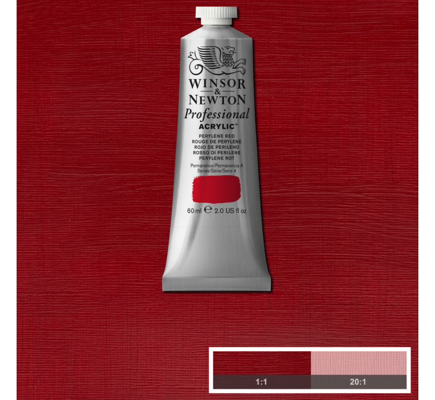 Professional acrylverf 60ml Perylene Red