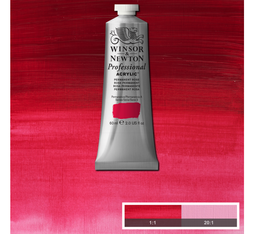 Professional acrylverf 60ml Permanent Rose