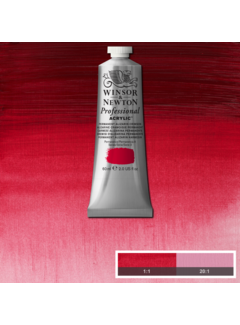 Winsor & Newton Professional acrylverf 60ml Permanent Alizarine Crimson