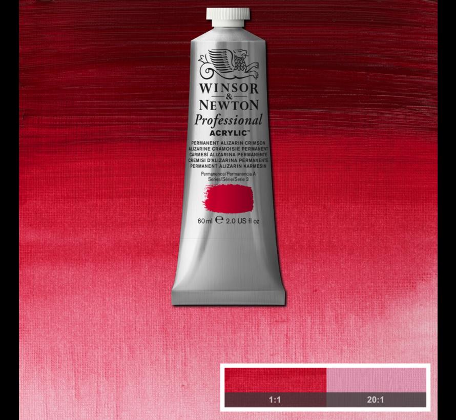 Professional acrylverf 60ml Permanent Alizarine Crimson