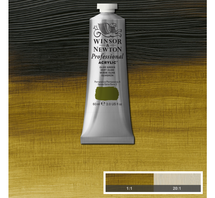 Professional acrylverf 60ml Olive Green