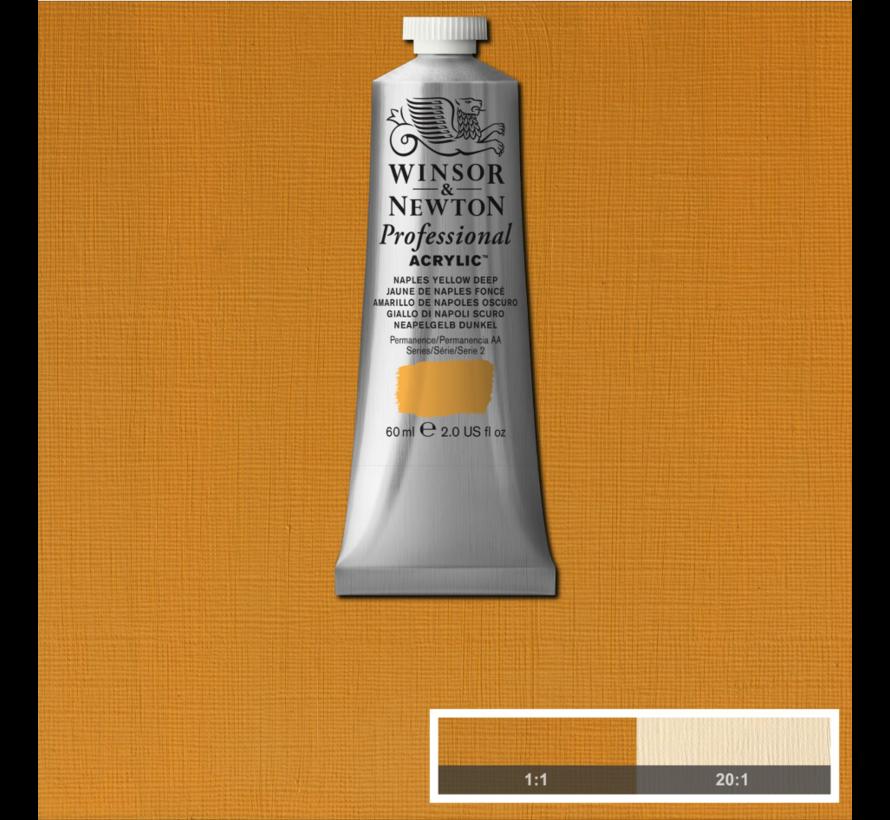 Professional acrylverf 60ml Naples Yellow Deep