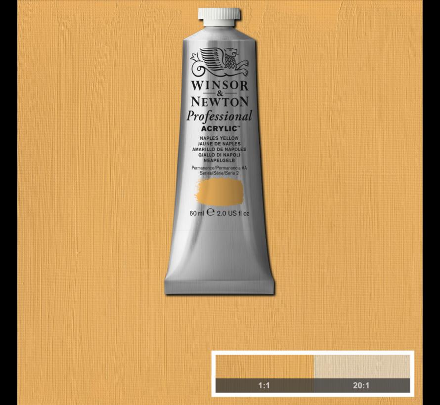 Professional acrylverf 60ml Naples Yellow