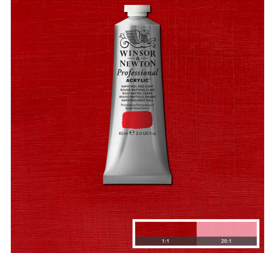 Professional acrylverf 60ml Naphthol Red Light