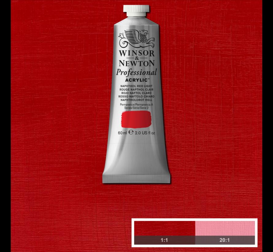 Professional acrylverf 60ml Naphthol Red Deep Light
