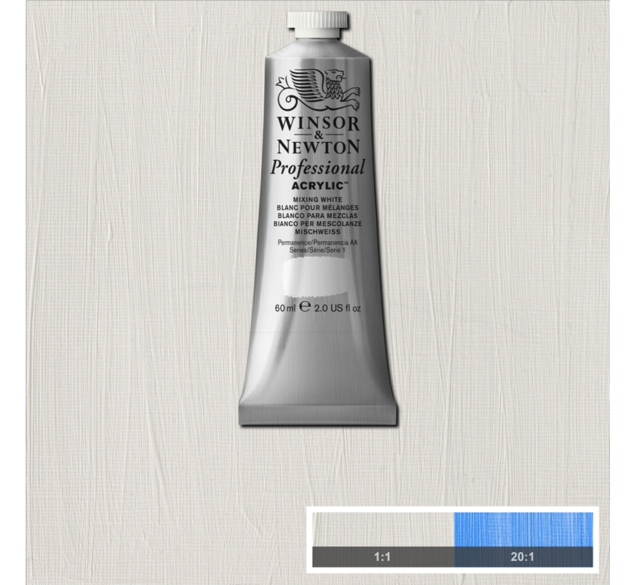 Professional acrylverf 60ml Mixing White