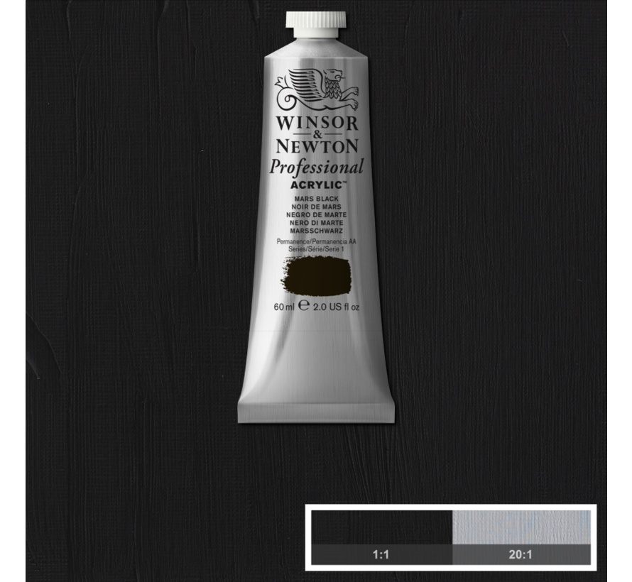 Professional acrylverf 60ml Mars Black