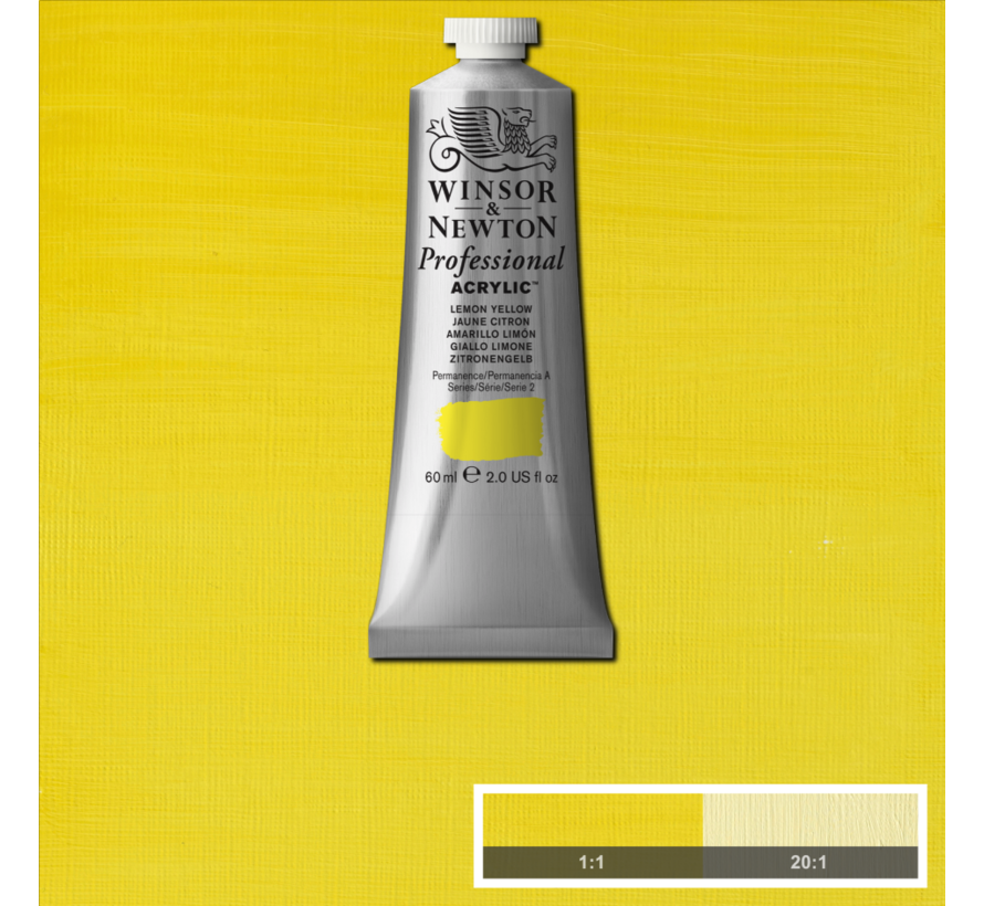 Professional acrylverf 60ml Lemon Yellow