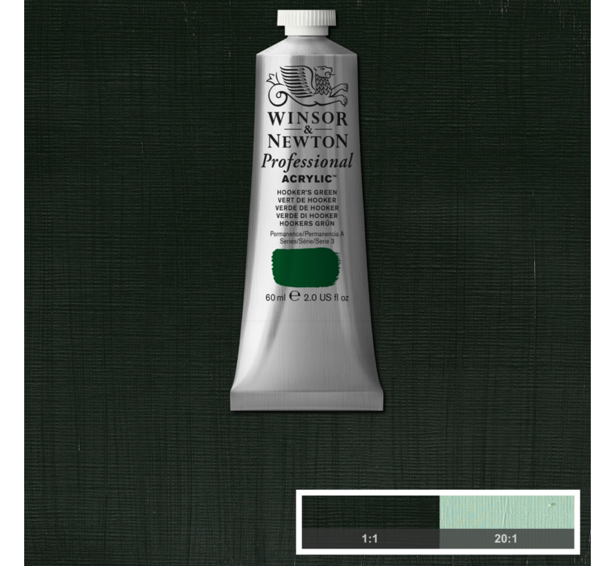 Professional acrylverf 60ml Hookers Green