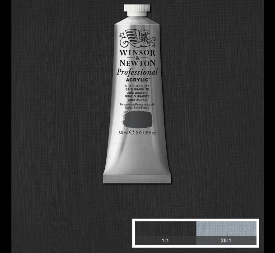 Professional acrylverf 60ml Graphite Grey
