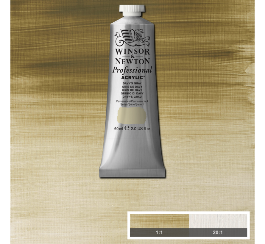 Professional acrylverf 60ml Davys Grey