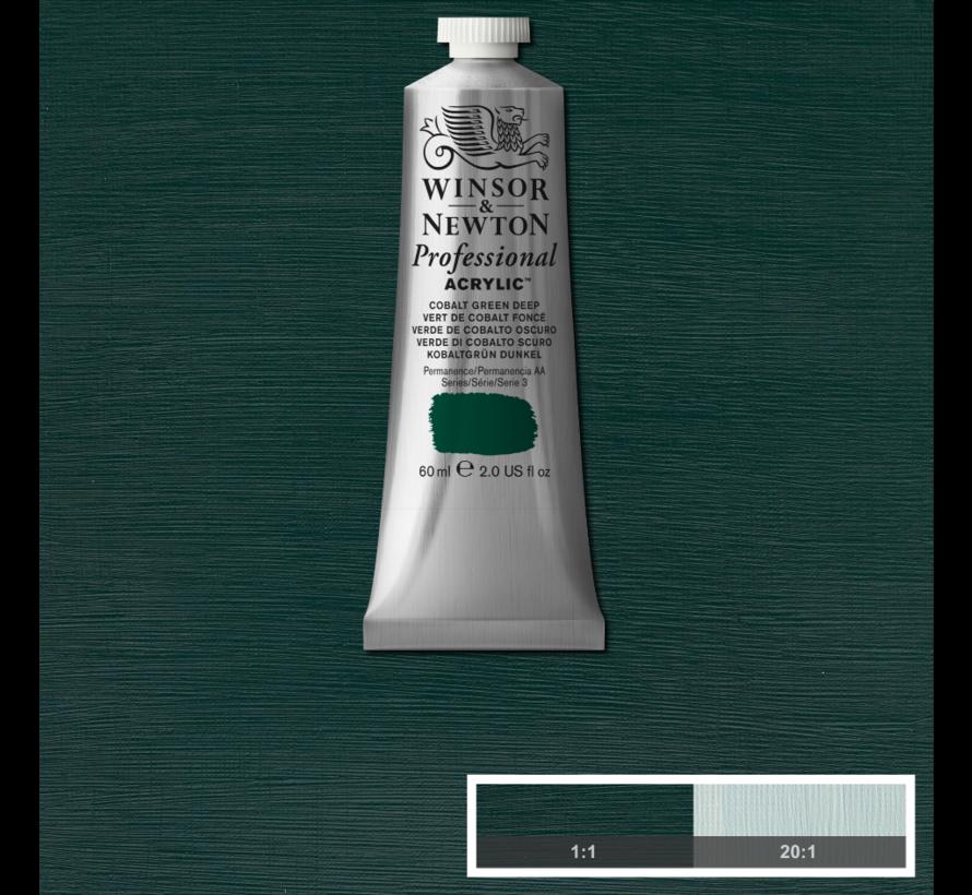 Professional acrylverf 60ml Cobalt Green Deep