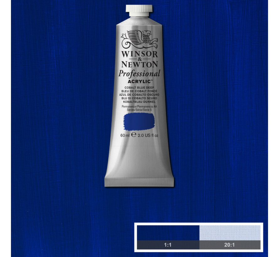 Professional acrylverf 60ml Cobalt Blue Deep