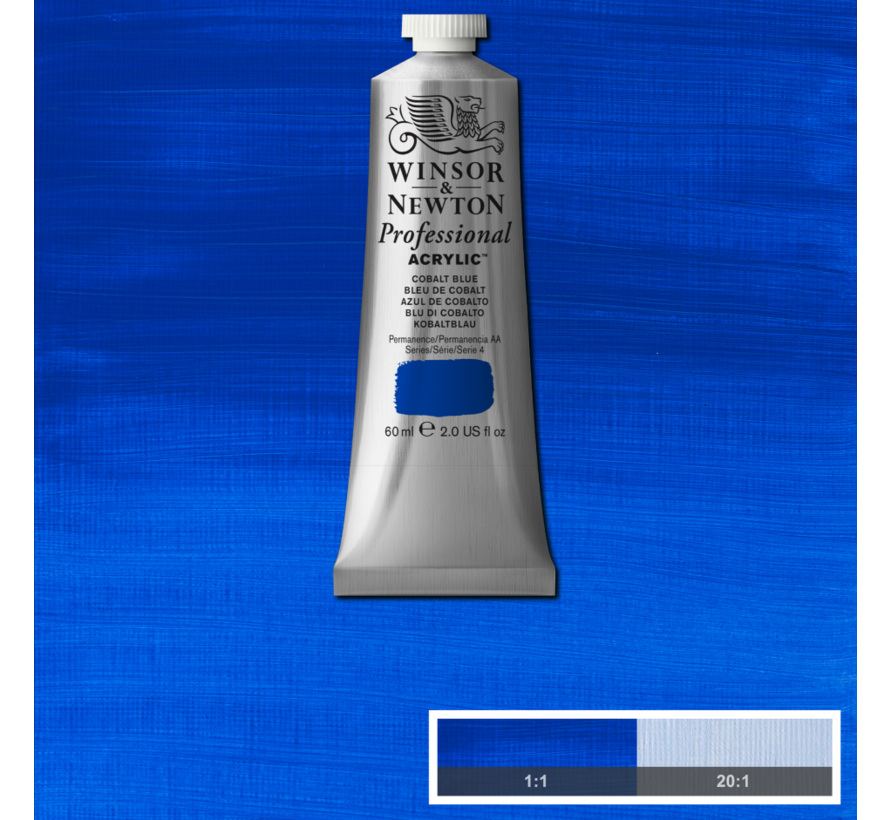 Professional acrylverf 60ml Cobalt Blue
