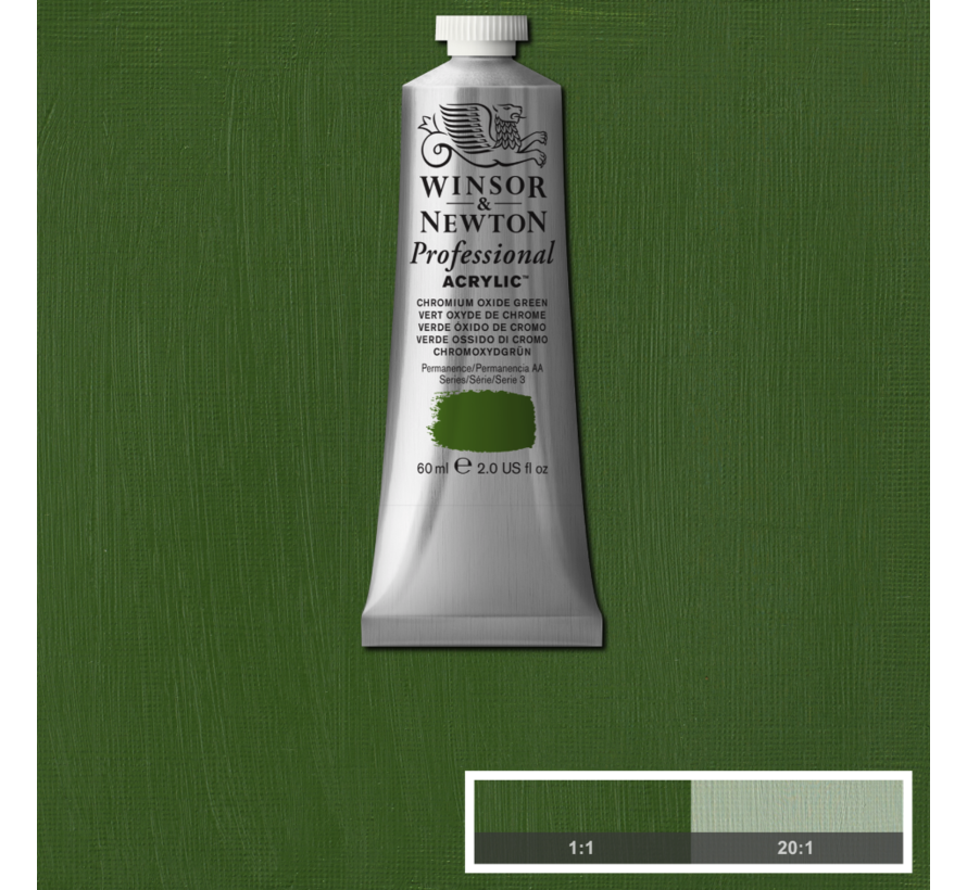 Professional acrylverf 60ml Chromium Oxide Green