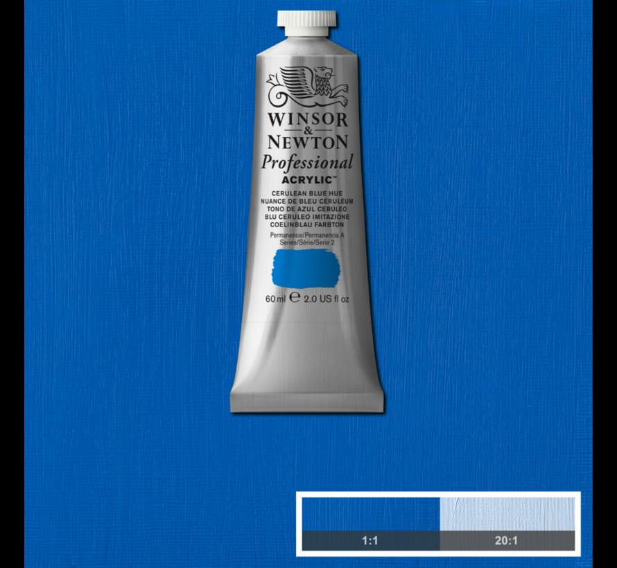 Professional acrylverf 60ml Cerulean Blue Hue