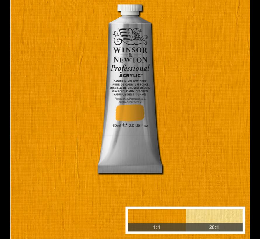 Professional acrylverf 60ml Cadmium Yellow Deep