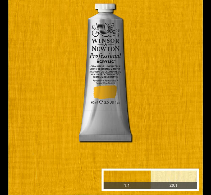 Professional acrylverf 60ml Cadmium Yellow Medium