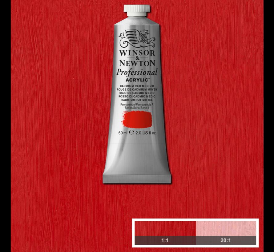 Professional acrylverf 60ml Cadmium Red Medium