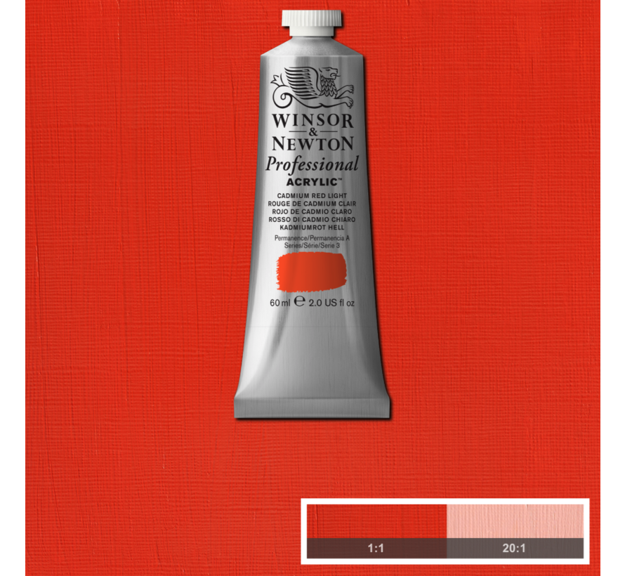 Professional acrylverf 60ml Cadmium Red Light