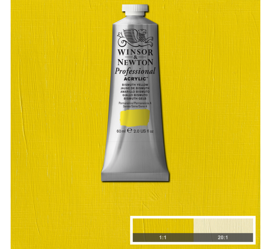 Professional acrylverf 60ml Bismuth Yellow