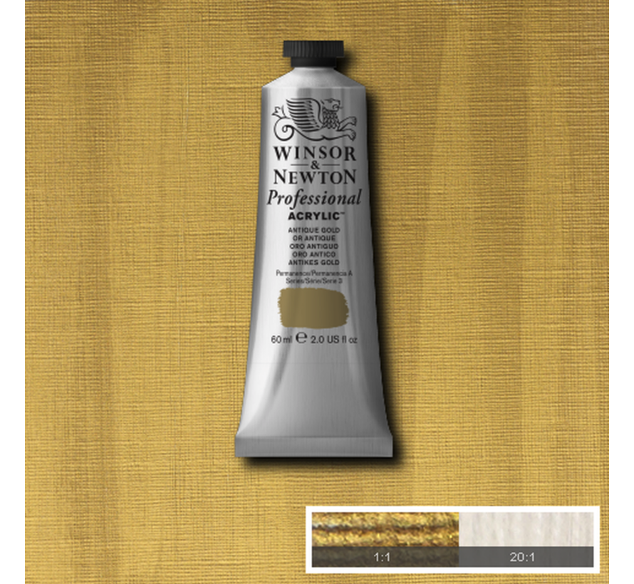 Professional acrylverf 60ml Antique Gold
