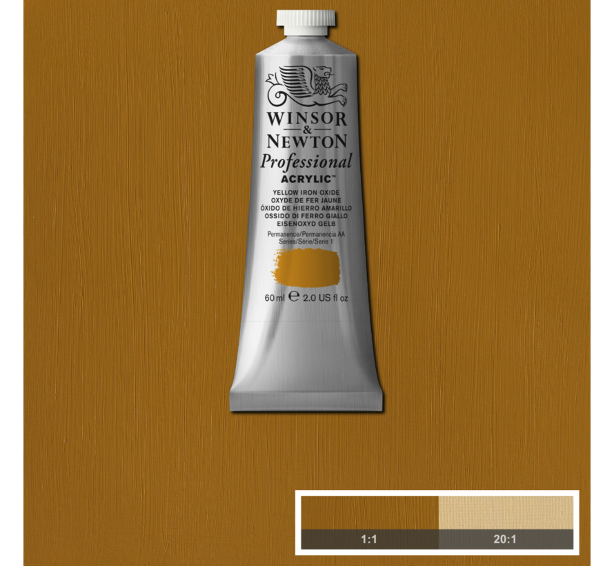 Professional acrylverf 60ml Yellow Iron Oxide