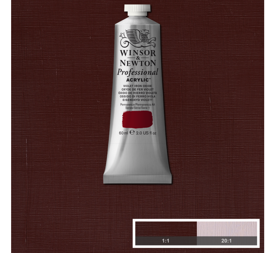 Professional acrylverf 60ml Violet Iron Oxide
