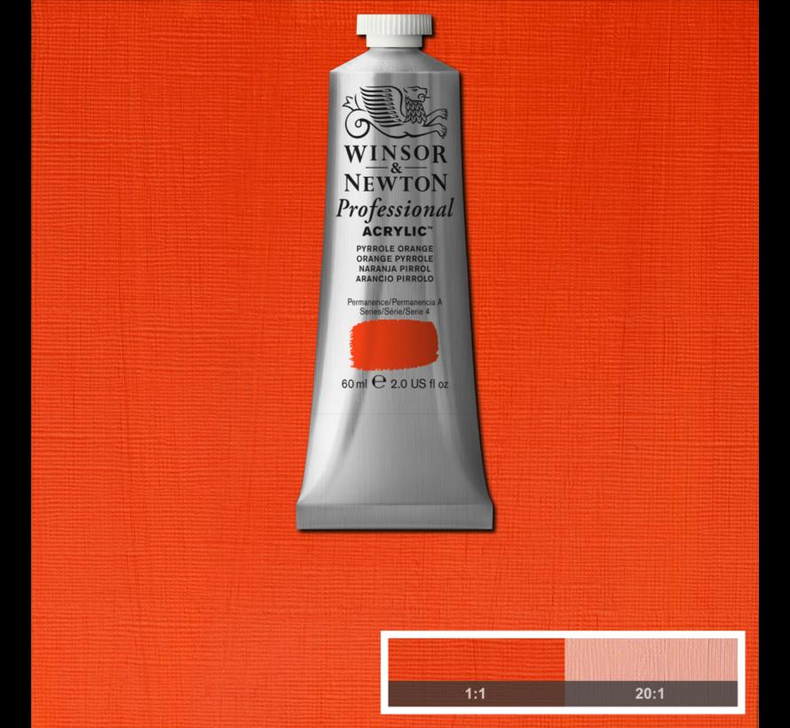 Professional acrylverf 60ml Pyrrole Orange