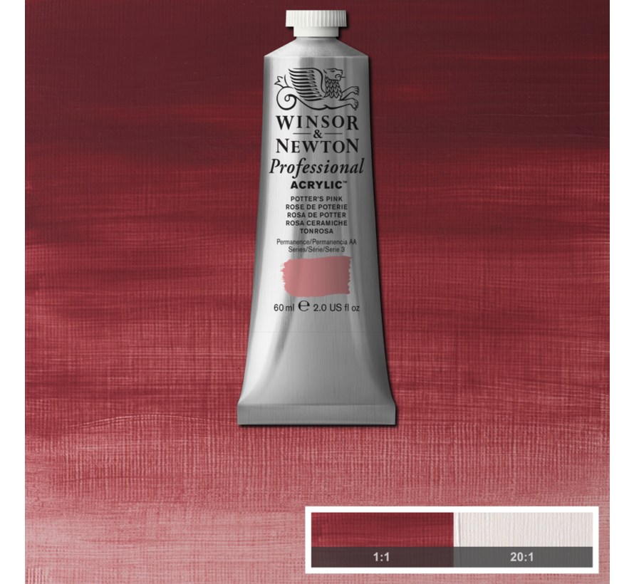 Professional acrylverf 60ml Potters Pink