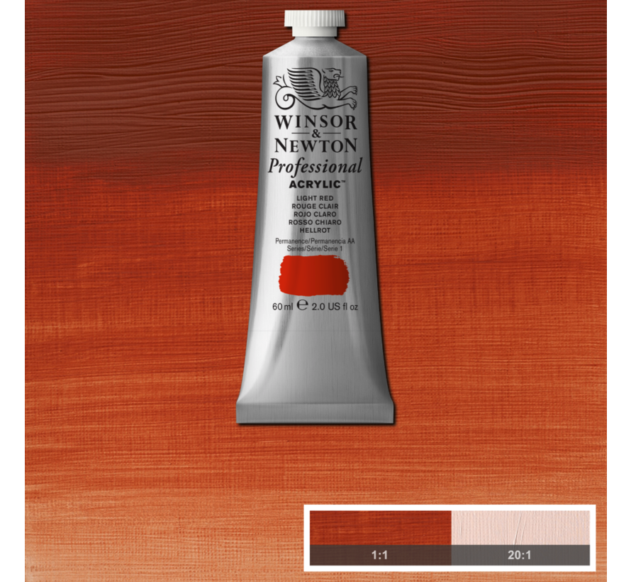 Professional acrylverf 60ml Light Red