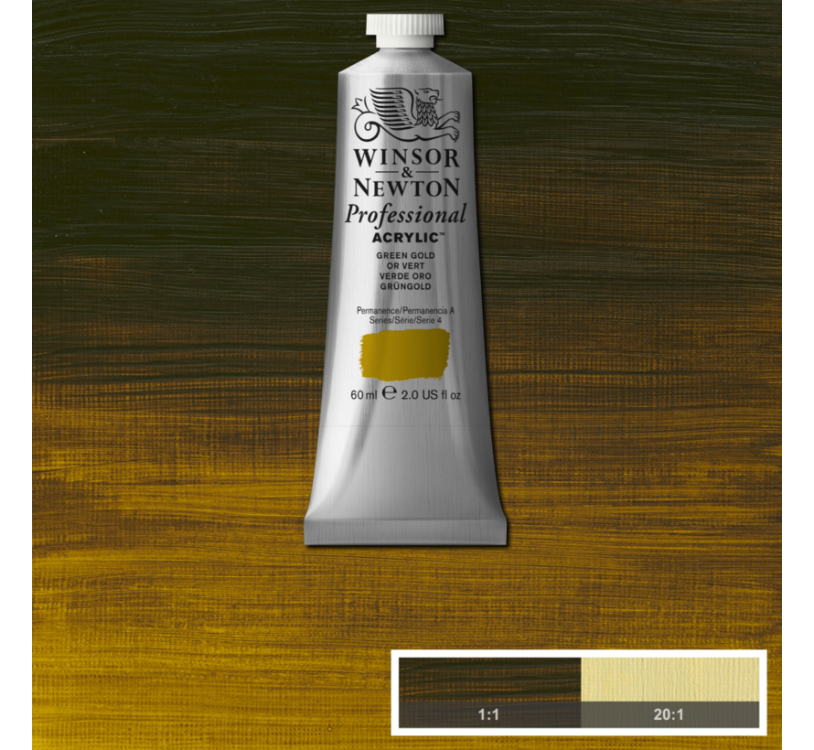 Professional acrylverf 60ml Green Gold