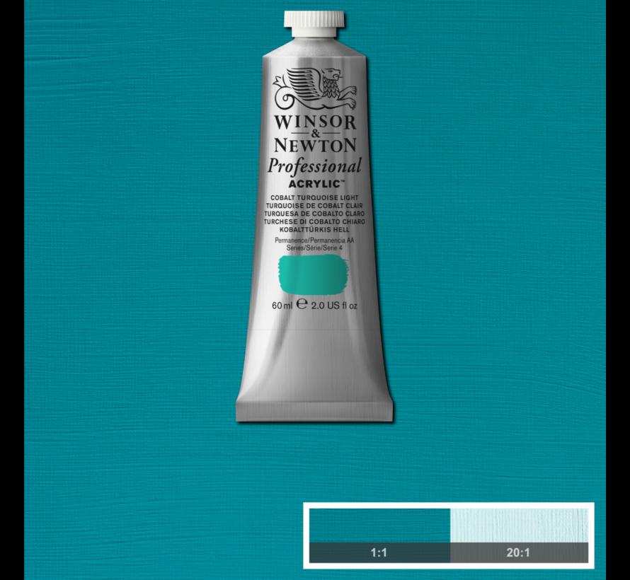 Professional acrylverf 60ml Cobalt Turquoise Light