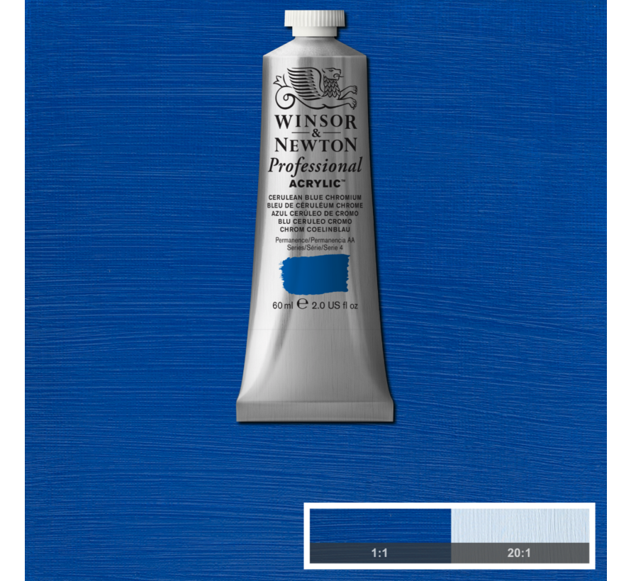Professional acrylverf 60ml Cerulean Blue Chromium